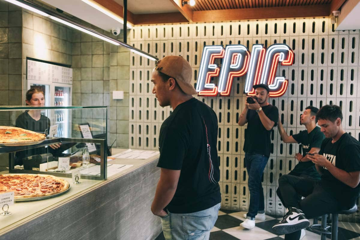 Epic Pizza customer   Pizza Delivery Near Me   Best Pizza